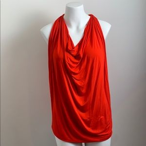Michael stars one size drape neck racer back S M